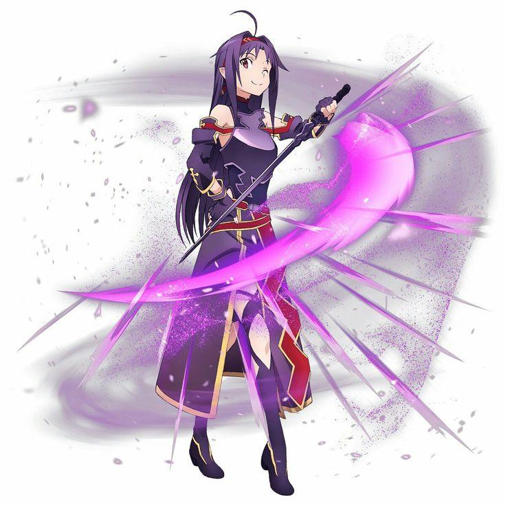 ⛄ Yuuki (ALO) | สาวอนิเมะ, อะนิเมะ, น่ารัก