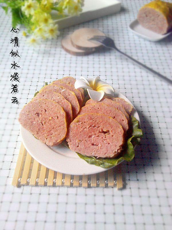 自制健康午餐肉的做法 自制健康午餐肉怎么做 自制健康午餐肉的家常做法 心食谱 Recipe Food Meat Salami