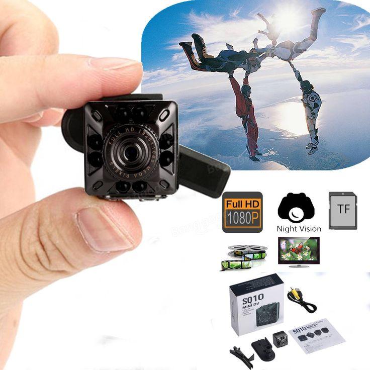 Mini Full HD DV Cámara DVR Videocámara Videocámara de visión nocturna Cam de acción