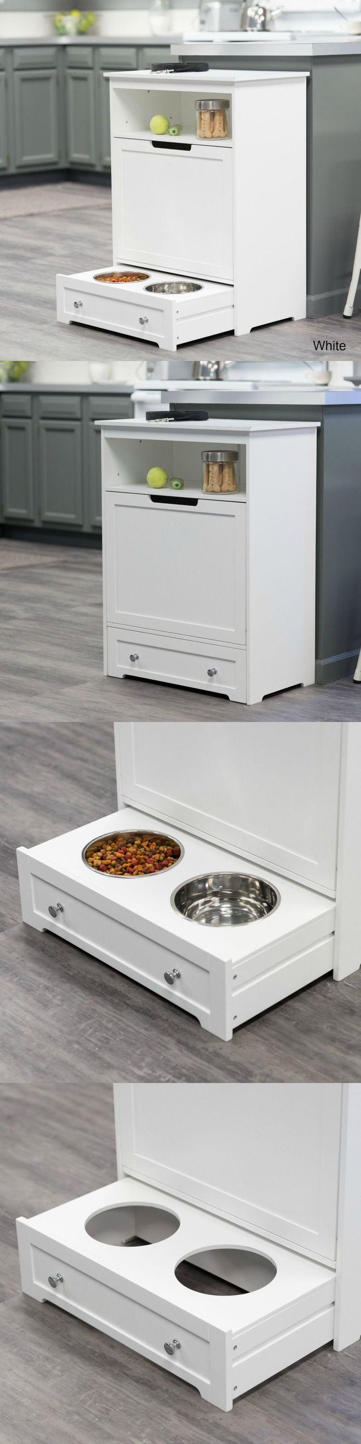 Design For Angled Dog Food Feeding Station