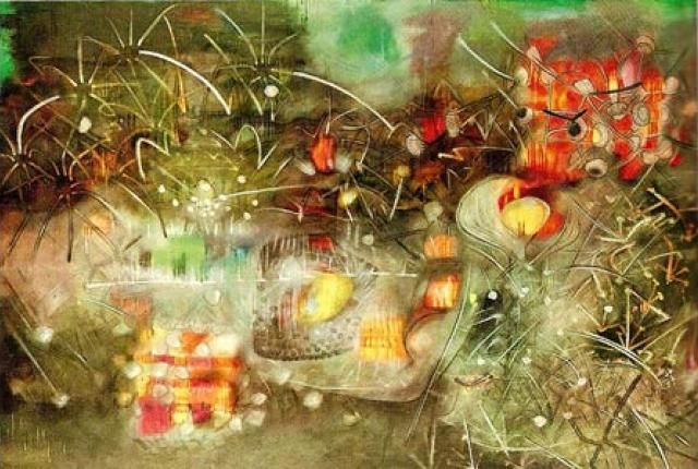 From Architect to Surrealist: Roberto Matta Echaurren | Mental Floss