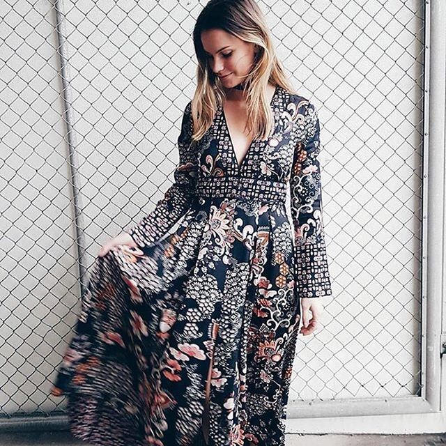Pre-weeked dress? (Photo by @faith.se) #oddmolly #peaceandeverything #intiutiondress