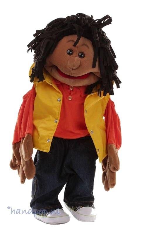Living Puppets handpop Roger - Handpoppen.nl