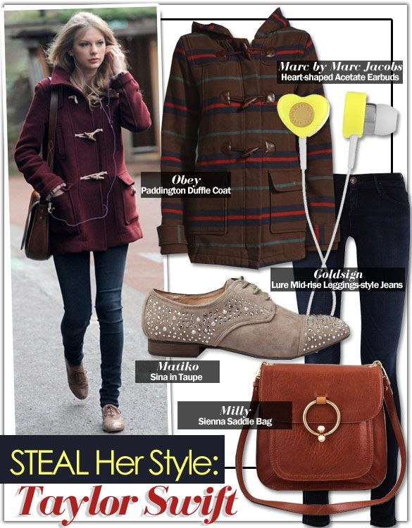 Steal Her Style Taylor Swift Fashion Pinterest