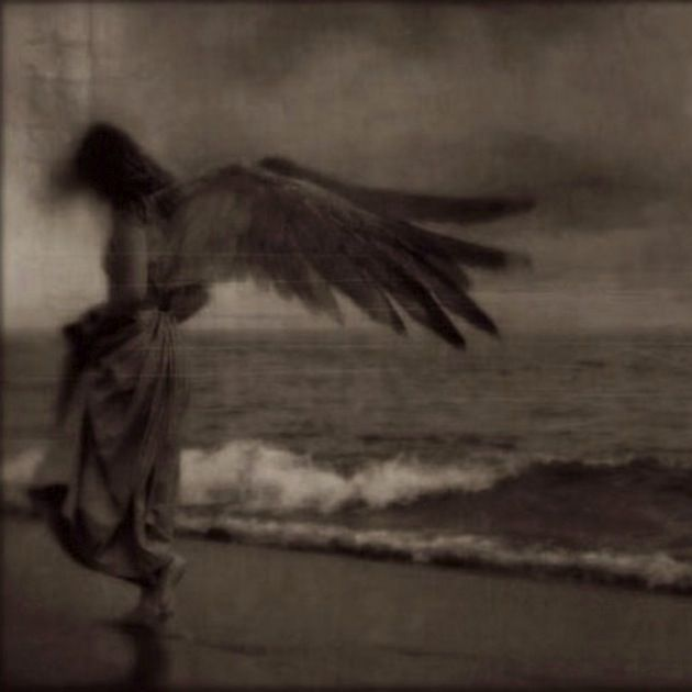 "...the angel did not smile, and said to himself: ""I would give my wings for just a single dream""..."