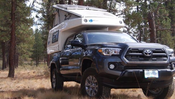 When you build some of the world's largest, meanest six-figure off-road adventure trucks, at some point you may want to build something smaller to appeal to a different set of buyers. For EarthCruiser, that's the GZL pickup camper.