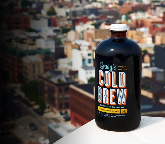 Grady's Cold Brew – Iced Coffee Concentrate (super adorable packaging)