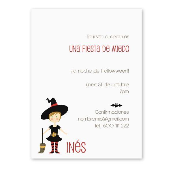 Invitaciones para cumpleaños y fiestas infantiles, baratas y originales, personalizadas muy bonitas, con disfraz de princesa