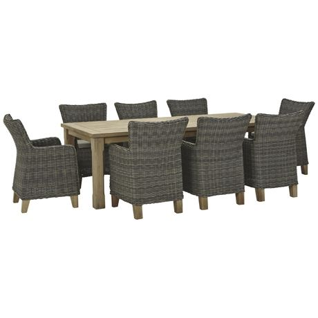 Umbria 9 Piece Dining Package | Freedom Furniture and Homewares $3699 #freedomaustralia