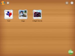 Use with art history or elements and principles of design iPad Flashcard maker for kids. with pictures and audio.