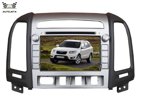 4UI intereface combined in one system CAR DVD PLAYER FOR For Hyundai Santa Fe 2006-2011 & Hyundai Elantra 2000-2006 GPS BT TV
