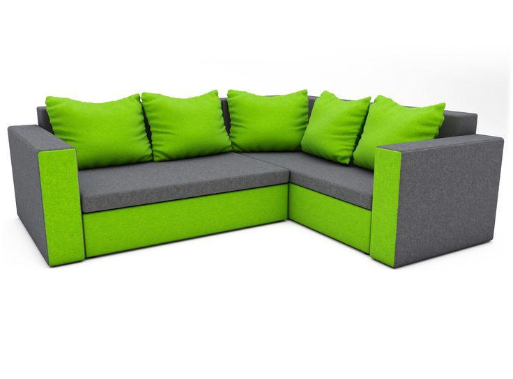 Die #Couch hat zwei #Behälter für #Bettwäsche. Das #Ecksofa ist sehr leicht zu montieren als auch zu demontieren