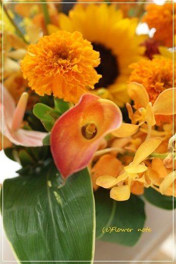 【今日の贈花】都立大学にOPENガレオーネ!|Flower note の 花日記