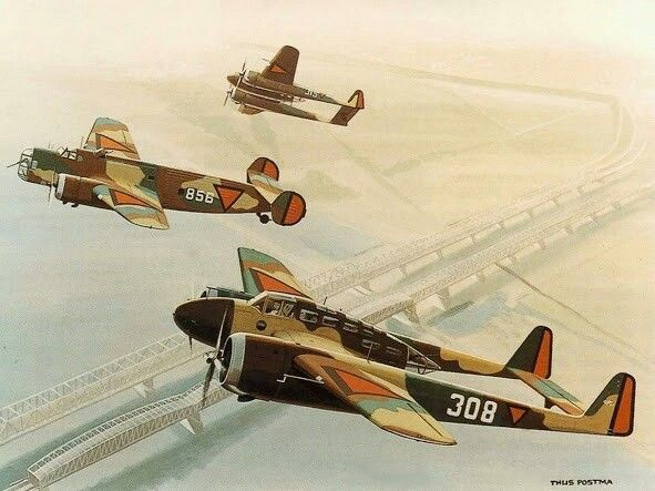 Fokker G1 and Fokker TV (Duch army)
