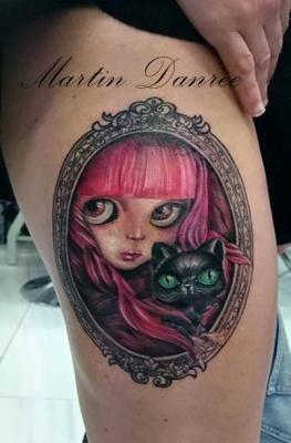 Martin Danree   Barcelona Tattoo Expo