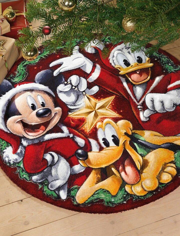 Disney juletræs tæppe