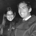 Christiaan Barnard s druhou manželkou (mladší o 28 let)