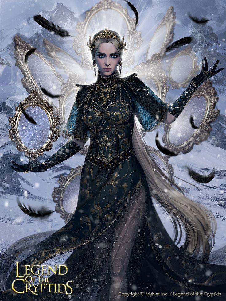 Vengeful mirror princess_adv, Svetlana Tigai on ArtStation at https://www.artstation.com/artwork/21VRv