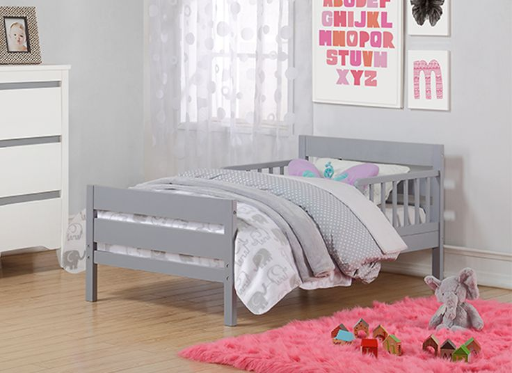 The Baby Relax Cruz Toddler Bed is the perfect transition between crib to twin or full size bed. With a beautifully paneled headboard and footboard, and with an array of color options to choose from, the Cruz Toddler Bed is a stylish solution to your growing child's needs.