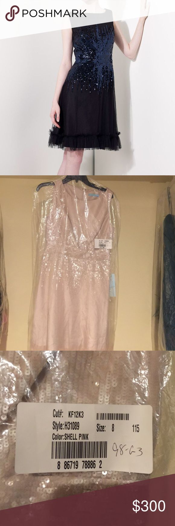 Kathy Hilton Shell Pink Dress!👗👗 New with Tags.  Kathy Hilton H31089. Size 8. Shell Pink. kathy hilton Dresses