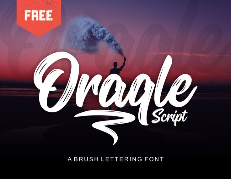 """Check out this @Behance project: """"ORAQLE SCRIPT - FREE FONT"""" https://www.behance.net/gallery/57076225/ORAQLE-SCRIPT-FREE-FONT"""