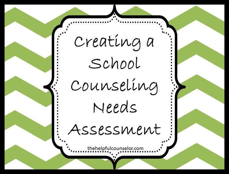 School Counseling Needs Assessment #schoolcounseling #schoolcounselor