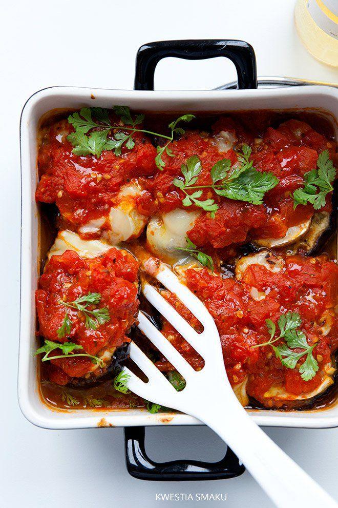 Parmigiana di melanzane, zapiekanka z bakłażana