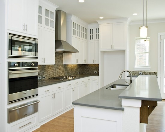 2 Level Island Kitchen For The Home Pinterest