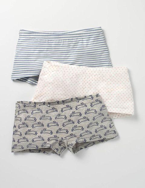 3 Pack Shorties (Multi)