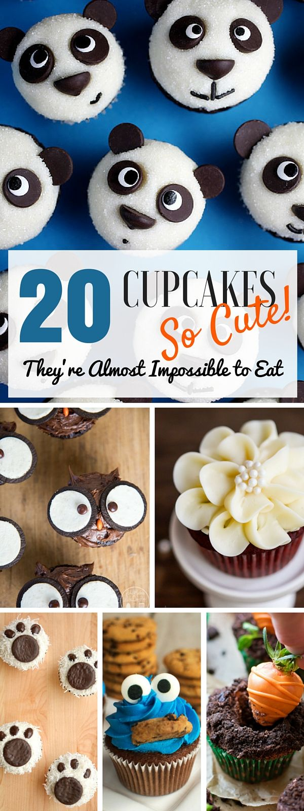 Check out the #recipes for the cutest cupcakes ever!