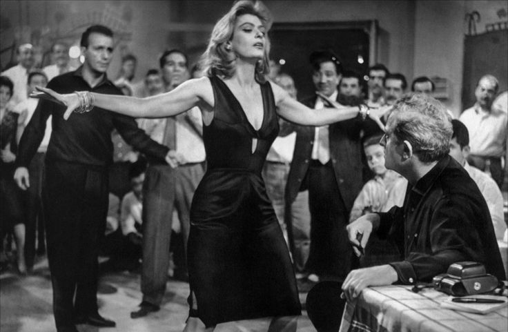 """Melina Mercouri in """"Never On Sunday"""" directed by Jules Dassin,1960"""