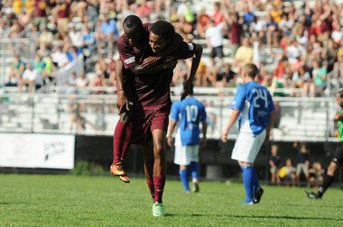 Detroit City FC continued their unbeaten season with a 3-1 victory over AFC Cleveland in the opening round of the 2013 National Premier Soccer League playoffs at Cass Tech High School.