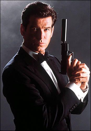 Sorry this is the real James Bond with hair on his head and without the pouty lips