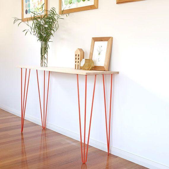 Steel Coffee Table Legs Australia: 17 Best Ideas About Narrow Console Table On Pinterest