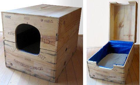 Idées pour recycler des caisses à vin                                                                                                                                                      Plus