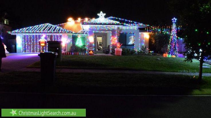 Christmas Lights in Heathwood, QLD. http://xmaslights.co/heathwood