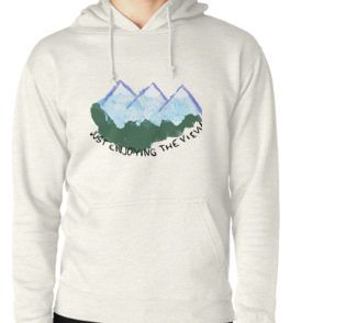 Hoodie (Pullover)And many others with this fun travelling hippie design #redbubble #onlineshopping #hippie #travel #clothing #phonecases #stickers