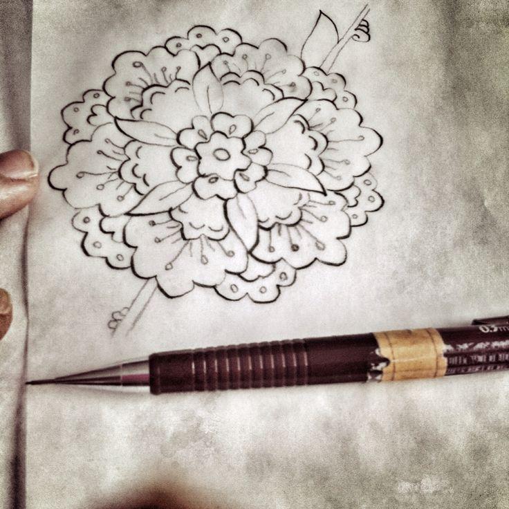 My work (Penç çalışmamdan bir kare) ✏️