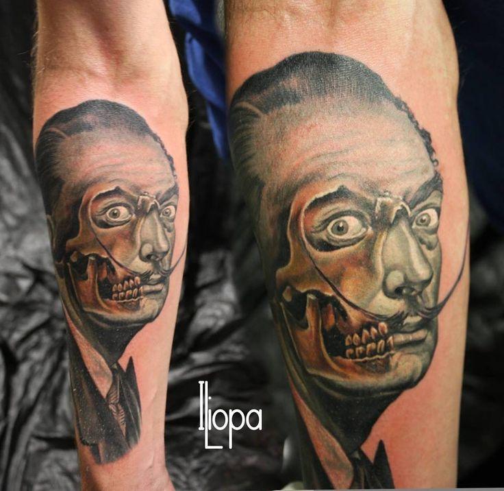 Salvador Dali Tattoo Dali Tattoo: 1000+ Ideas About Dali Tattoo On Pinterest