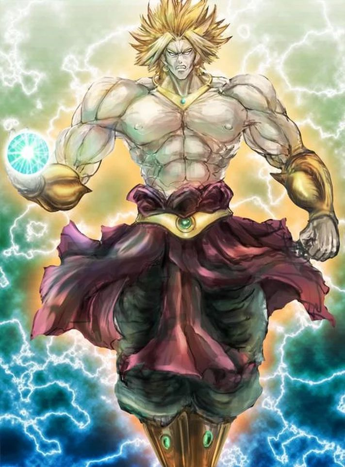 889 best dragon ball z instant transmission images on - Broly dragon ball gt ...