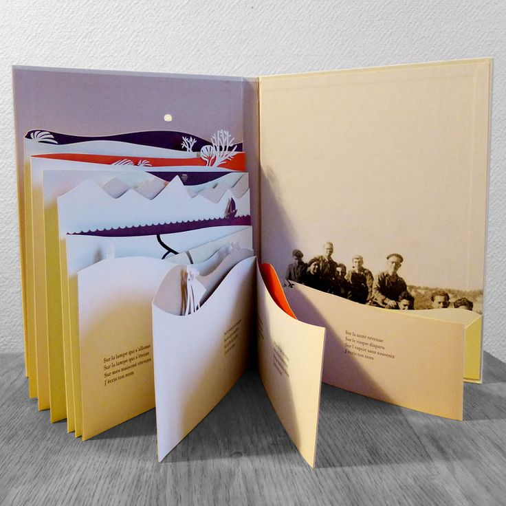 Anouck Boisrobert et Louis Rigaud – Liberté, de Paul Éluard, livre en papier découpé (2012)
