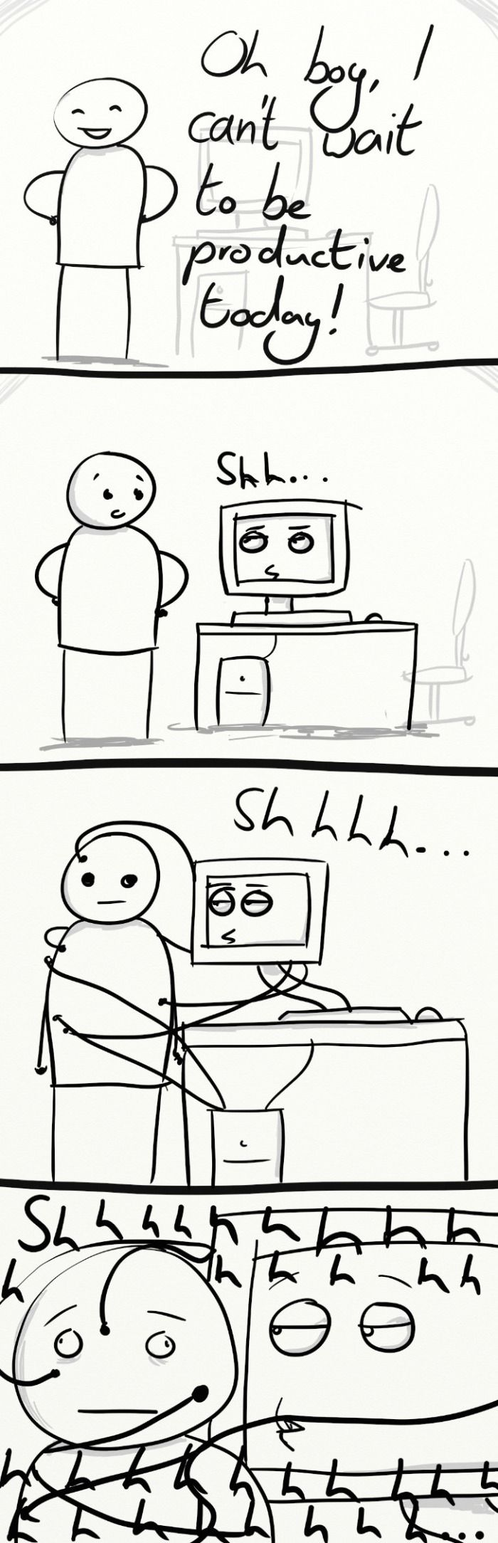 Evil Computer // funny pictures - funny photos - funny images - funny pics - funny quotes - #lol #humor #funnypictures