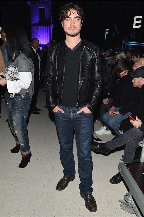 Riccardo Scamarcio dsquared2 milano fashion week 2015
