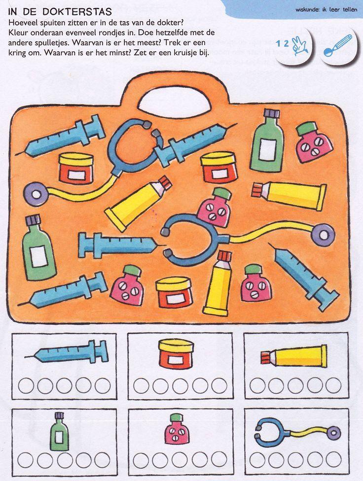tools number count worksheet      Crafts and Worksheets for Preschool,Toddler and Kindergarten