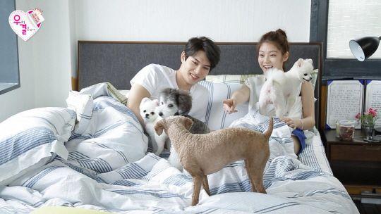 Jonghyun and Gong Seung Yeon