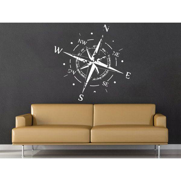 White Nautical Wall Decor : Best images about nautical compass wall floor art on