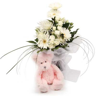 New Baby Flowers and Gift Basket Ideas