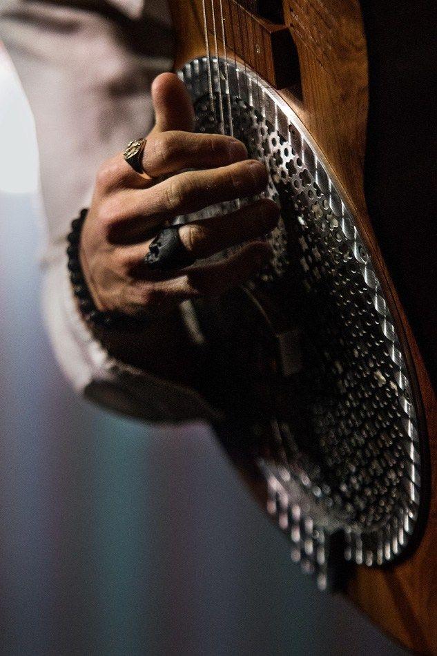 Best Denver Concert Photos 2016 - Kaleo - guitar closeup