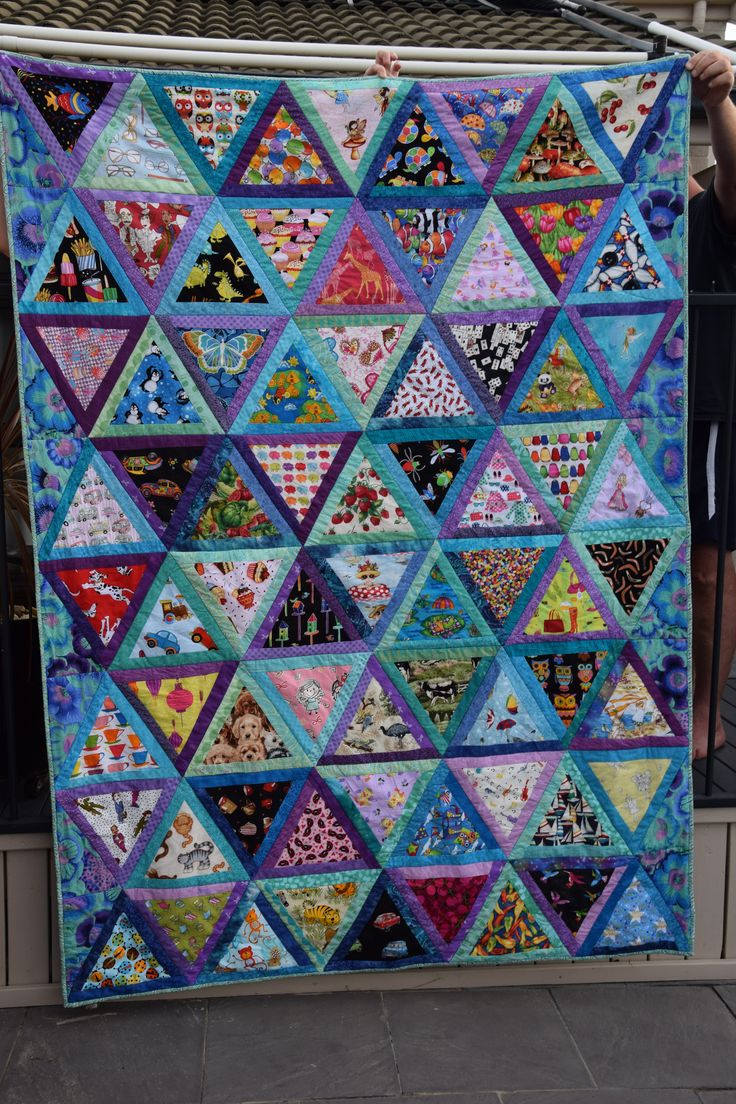 Happy second birthday Eadie. What can you find in this Eye Spy quilt?