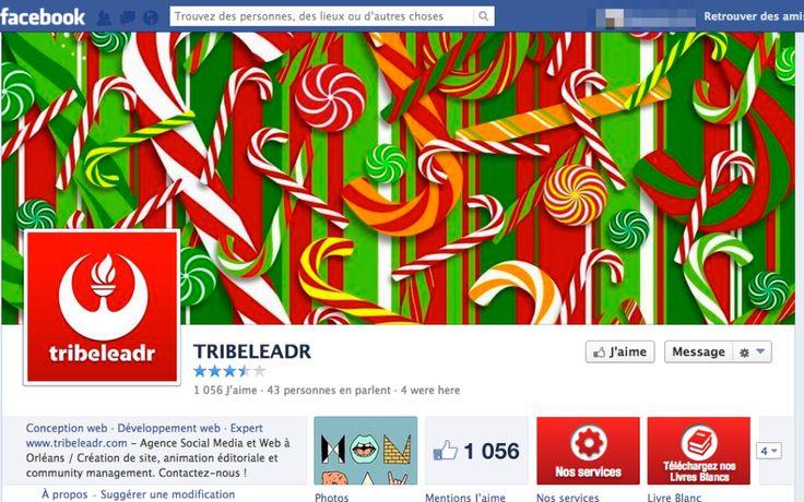 Couverture Facebook de Noël : notre sélection !